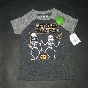 Disney Star Wars Glow in the Dark Halloween Tee
